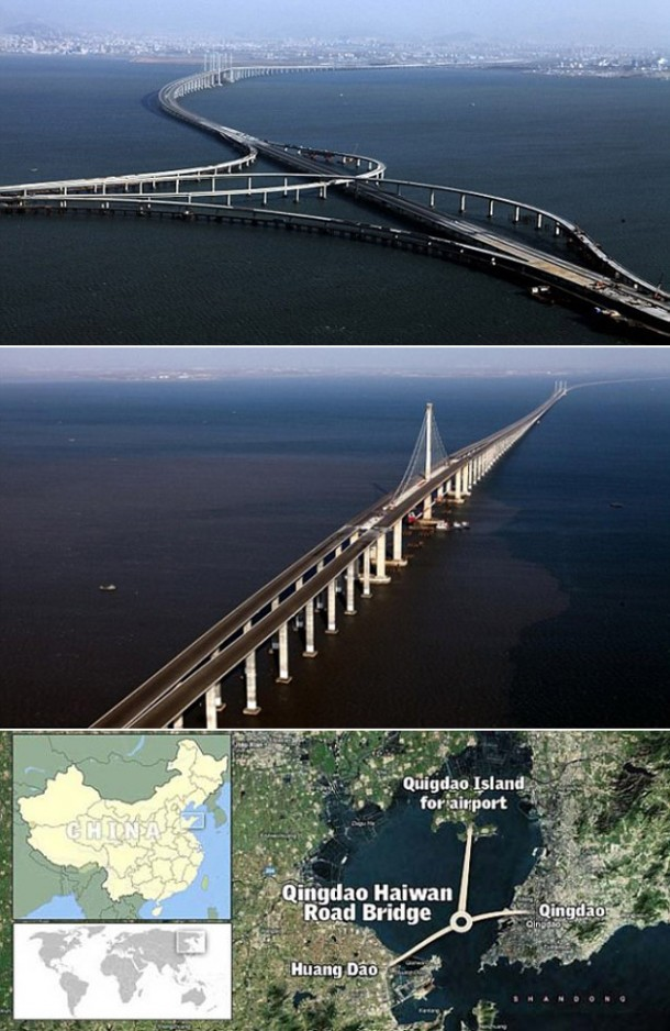 World's Longest Sea Bridge  3