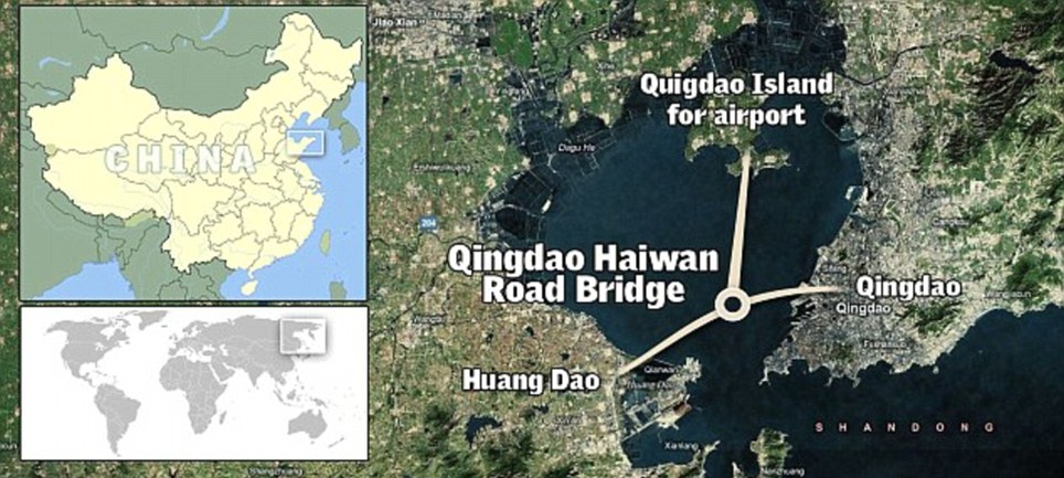 World's Longest Sea Bridge 4