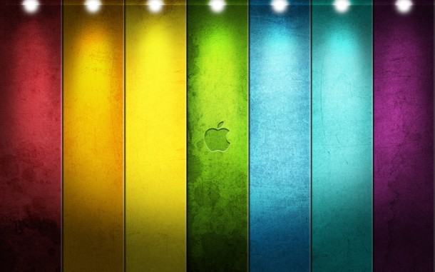 apple logo wallpaper 1
