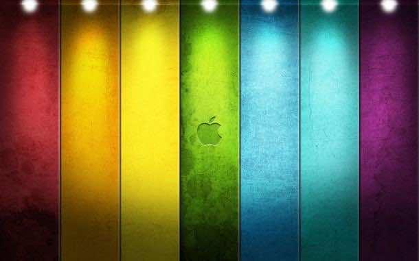 apple logo wallpaper 1