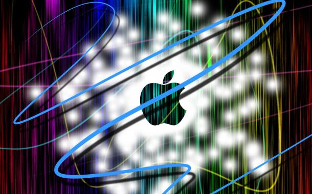 apple logo wallpaper 2