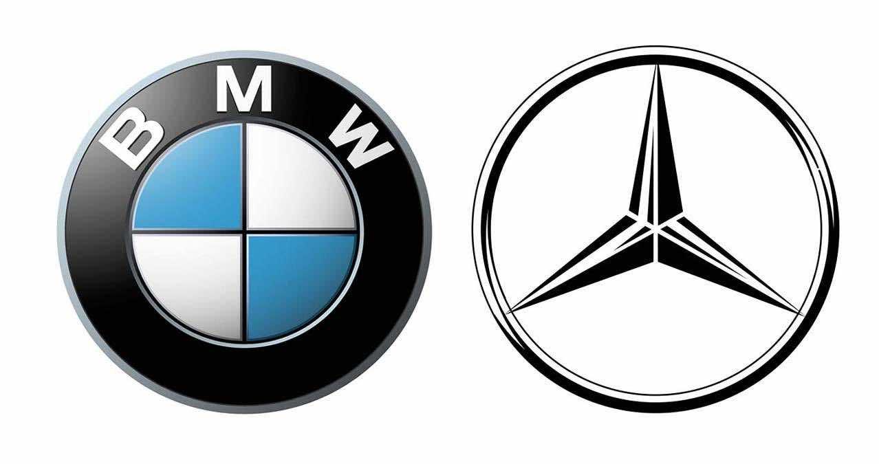Bmw Mercedes Logo2 Jpg
