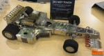 F1 Car Made from Hard Drives