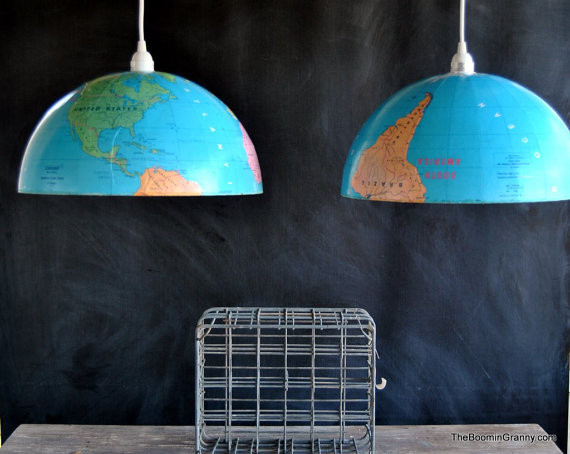 globe chandlier