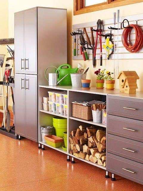 organise garage 12