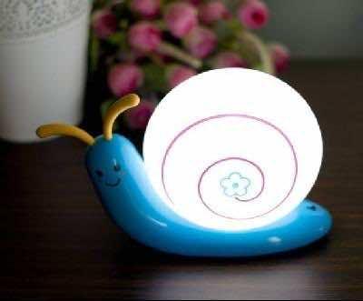 snail lamp