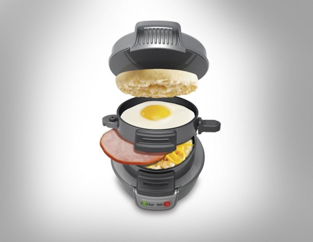 1. Breakfast Sandwich Maker