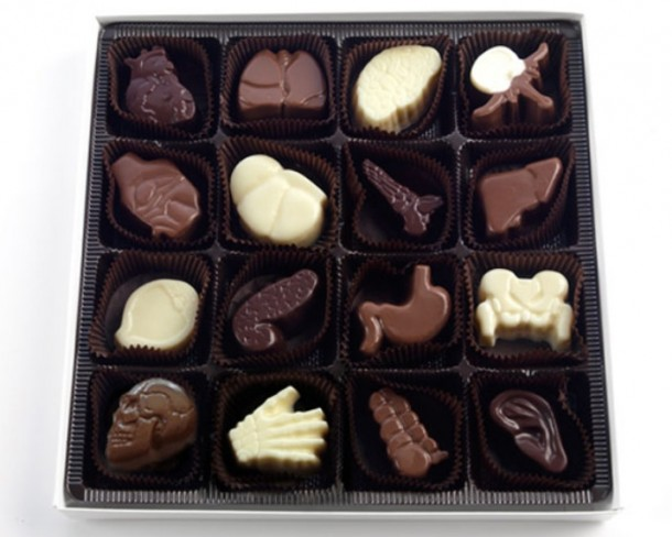 18. Organ Chocolates