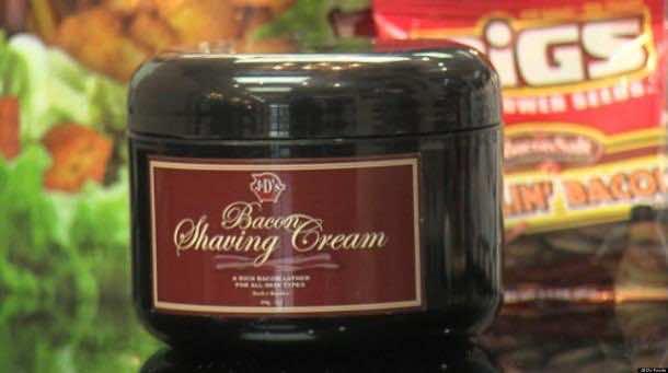 9. Bacon Shaving Cream