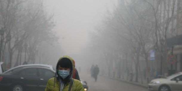 Heavy Smog Hits Harbin