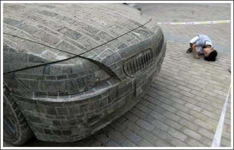 Brick masonry – BMW Replica 2