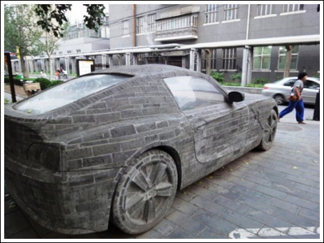 Brick masonry – BMW Replica  3