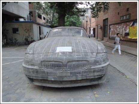 Brick masonry – BMW Replica 4
