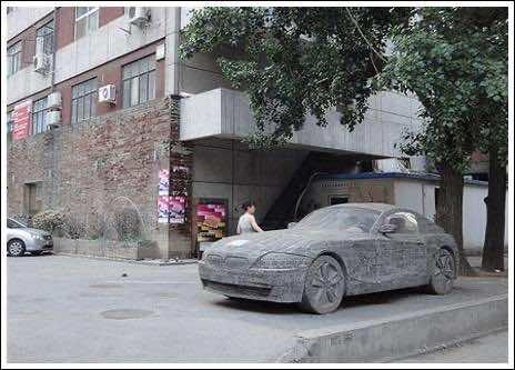 Brick masonry – BMW Replica 6