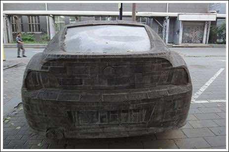 Brick masonry – BMW Replica 7