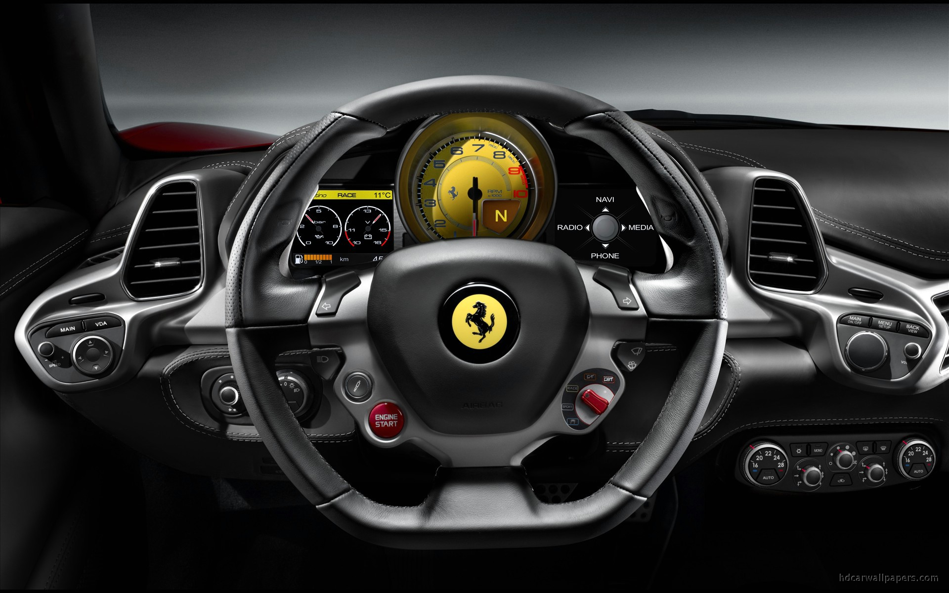 Image Result For Mac Wallpaper Ferrari F Interior