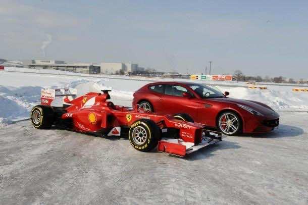 HD Ferrari Wallpaper 2
