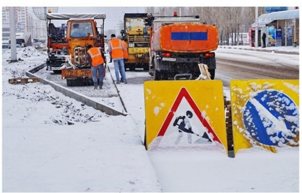 Can Someone Explain This? Russians Lay Asphalt On Snowed Roads