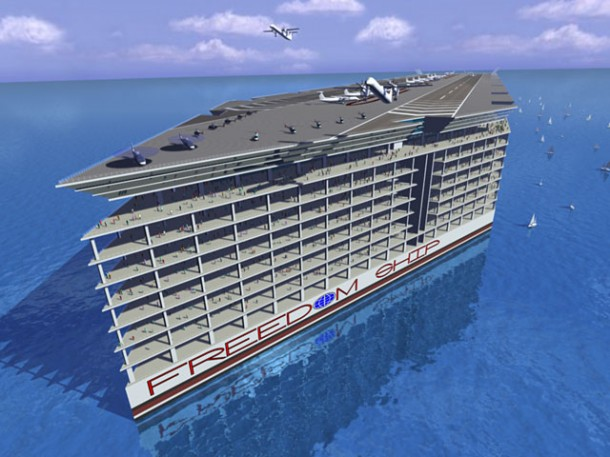 Let's Move To Seas – Floating City