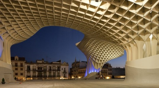 Metropol Parasol Is The World's Largest Wooden Structure