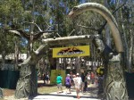 Palmersaurus Dinosaur Park entrance