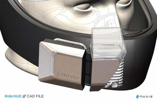 Ride HUD helmet system 2