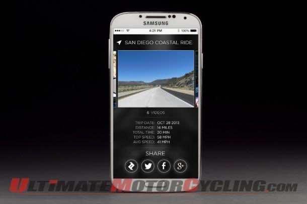 Ride HUD helmet system 3