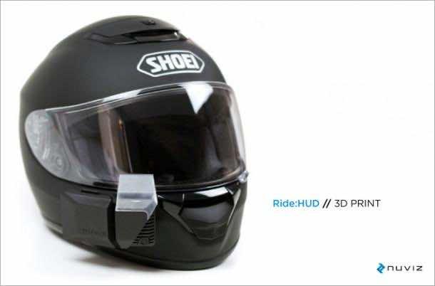 Ride HUD helmet system 4