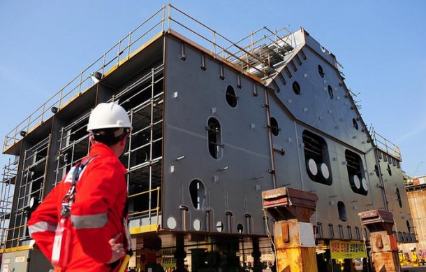 Shell is Building World's Largest Ship 4