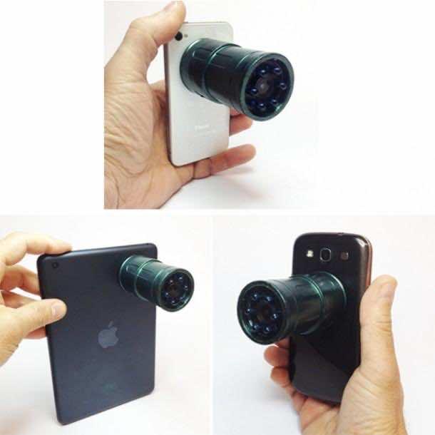 Snooperscope and smartphones