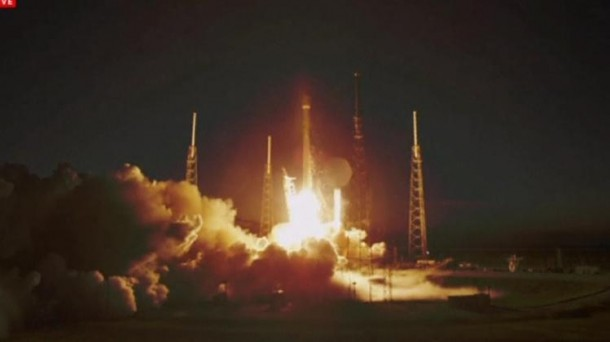 SpaceX Launches First Commercial Satellite 2