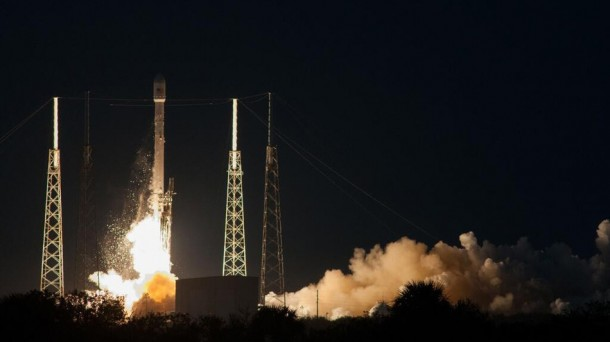 SpaceX Launches First Commercial Satellite 4