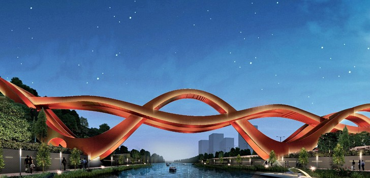It will be built on Dragon King Harbor River in Changsha.
