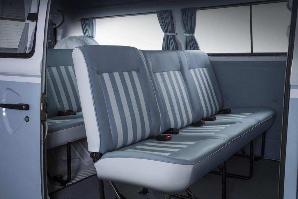 Volkswagen says goodbye to iconic hippie van for Vw kombi interior designs