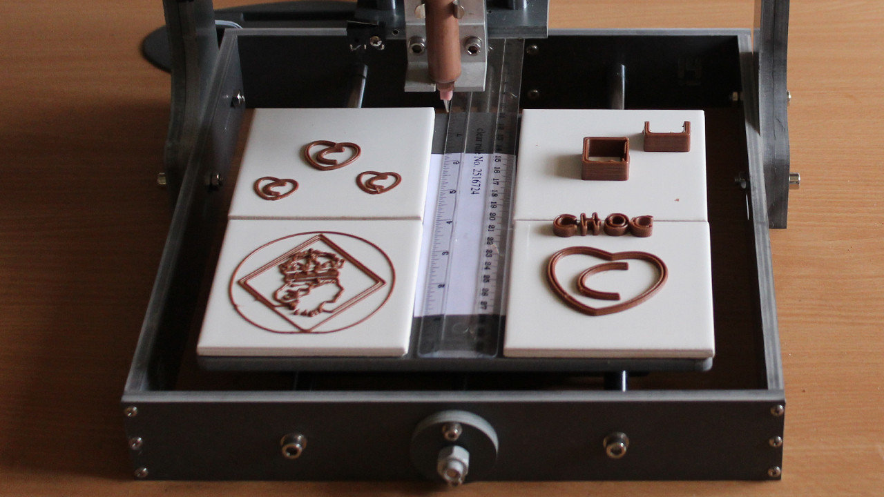 World's First 3D Chocolate Printer Is Here