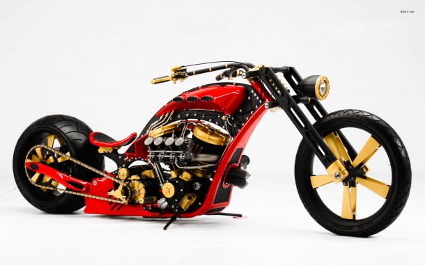 custom motorcycle wallpaper