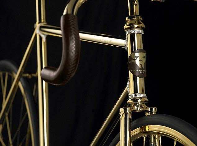 Gold plated bike