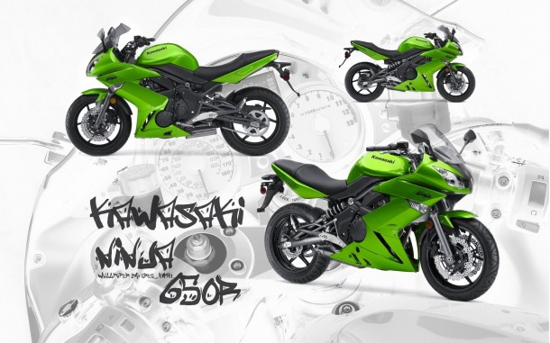 kawasaki ninja 650r wallpaper