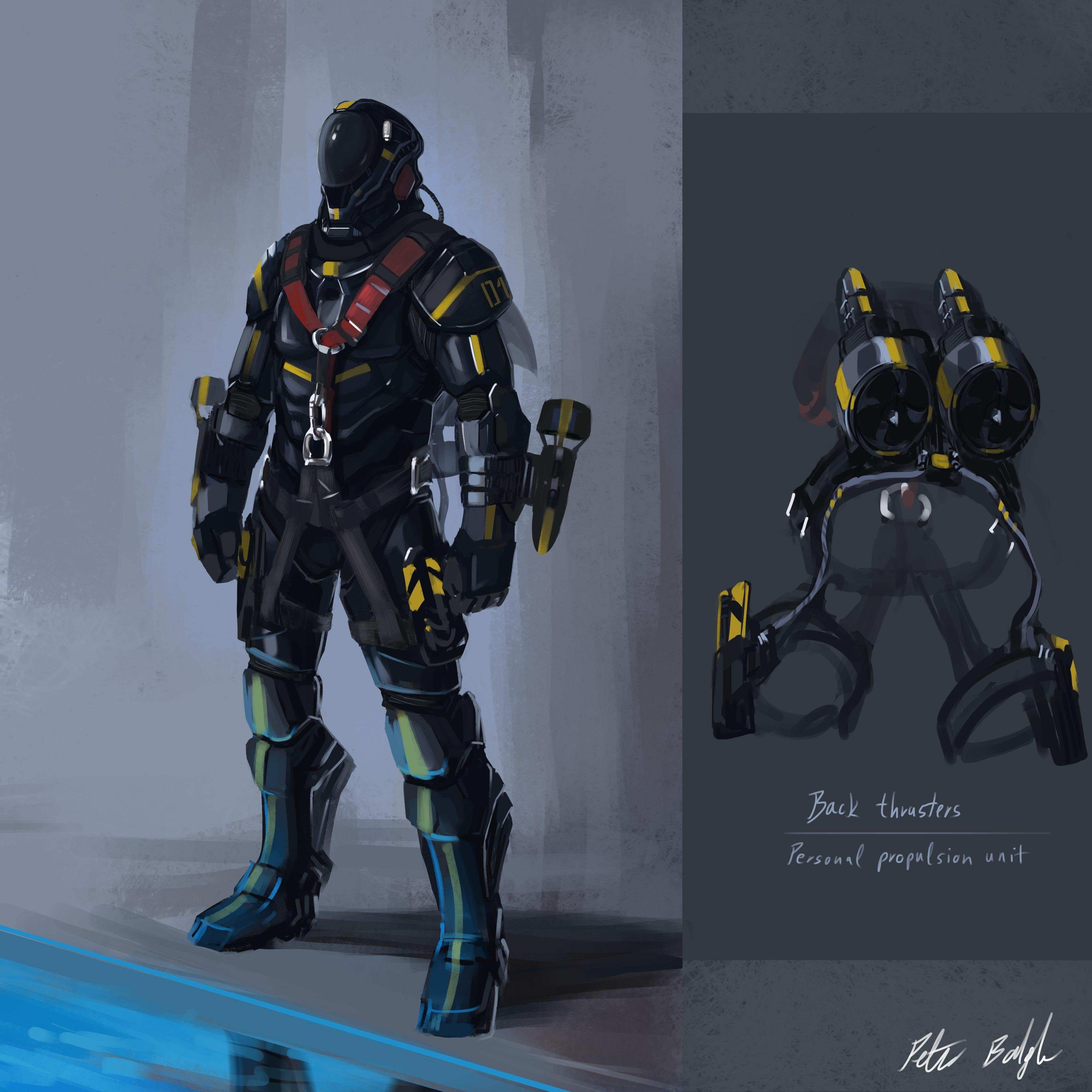 x2 Underwater Jet Pack Conceptual design