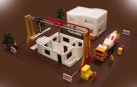 3D Printer Making House