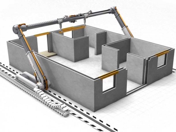 3D Printer making house -1