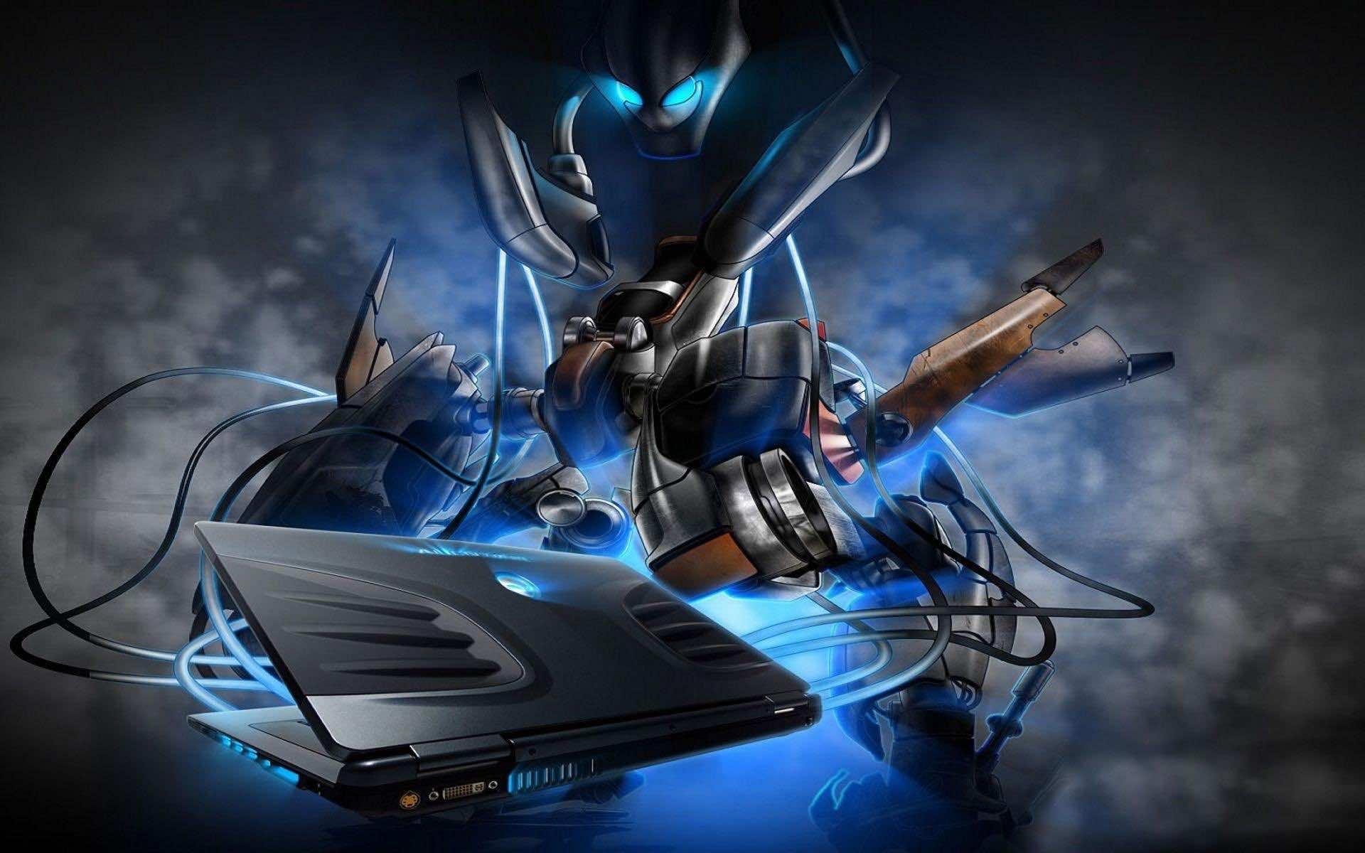 Alienware backgrounds 5 - Alien desktop ...
