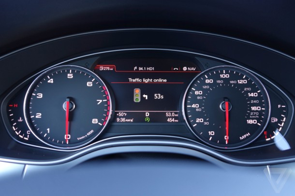 Audi Traffic Light Assist 5