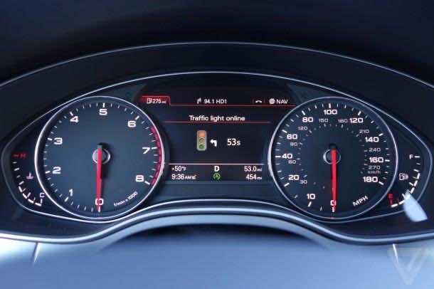 Audi Traffic Light Assist 5