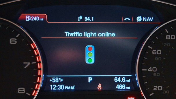 Audi Traffic Light Assist