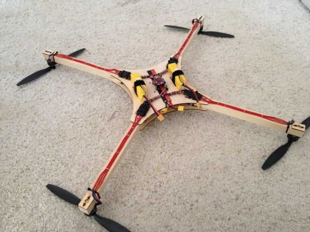Building the copter 3
