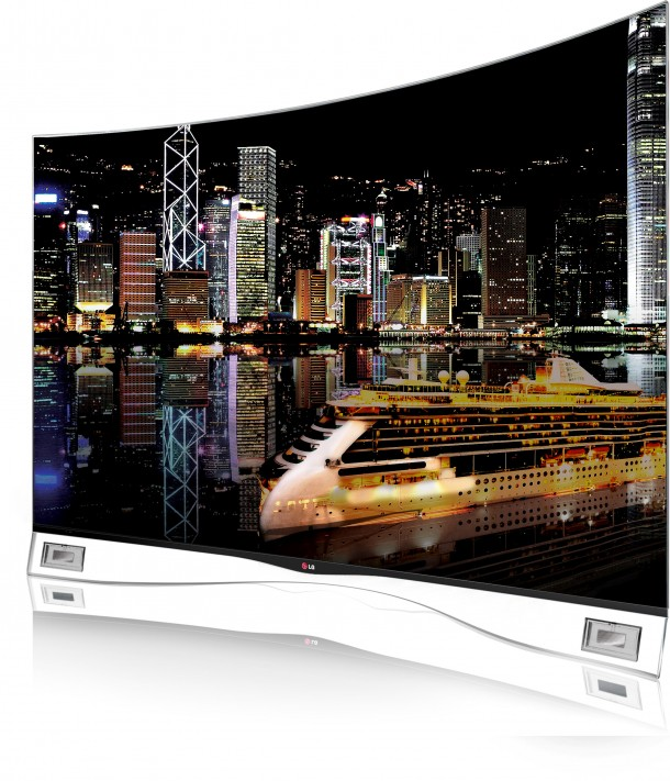 Curved-OLED-TV
