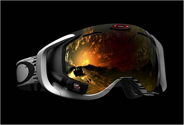 Google Glass for skiers