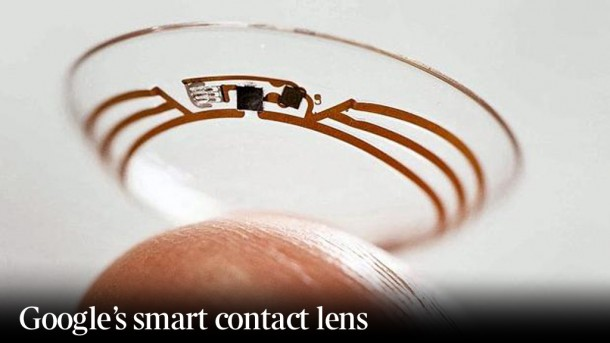 Google Smart Conctact Lens 3