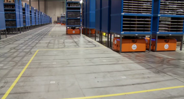 Kiva Systems - Amazon Warehouse 3